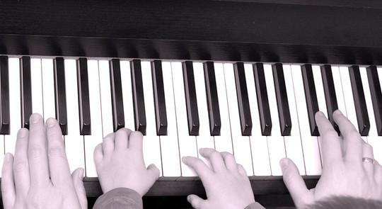 Musik, Klavierunterricht in der logopädischen Praxis Senden 48308